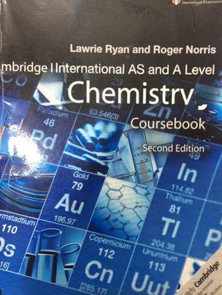 Chemistry 9701 Cambridge A LEVEL Coursebook 2nd Edition