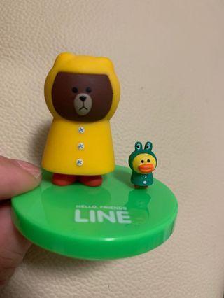 Line friends 熊大扭蛋