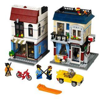 Lego 31026 Bike Shop Cafe