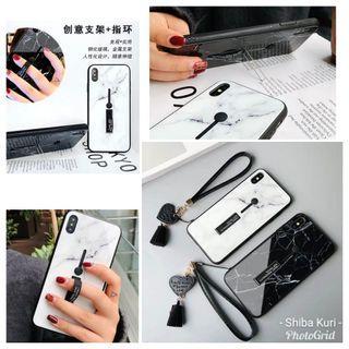 iPhone 隱型手環,支架鋼化玻璃手機殼