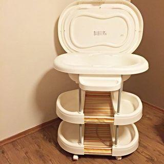 🚚 Baby bath tub / changing table