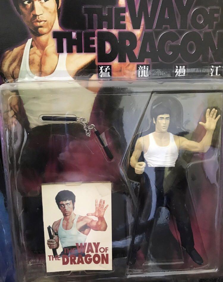 4 super rare vintage 1998 Bruce Lee action figures