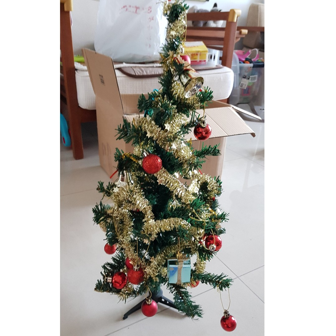 50 Cm Christmas Tree With Battery Powered Blink Lights Furniture