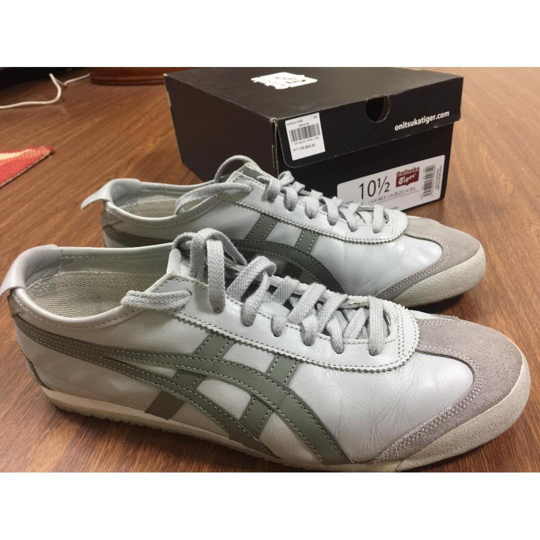 outlet store 40127 75772 60%OFF Onitsuka Tiger LEGIT Mexico 66 Mid Grey Agave Green ...