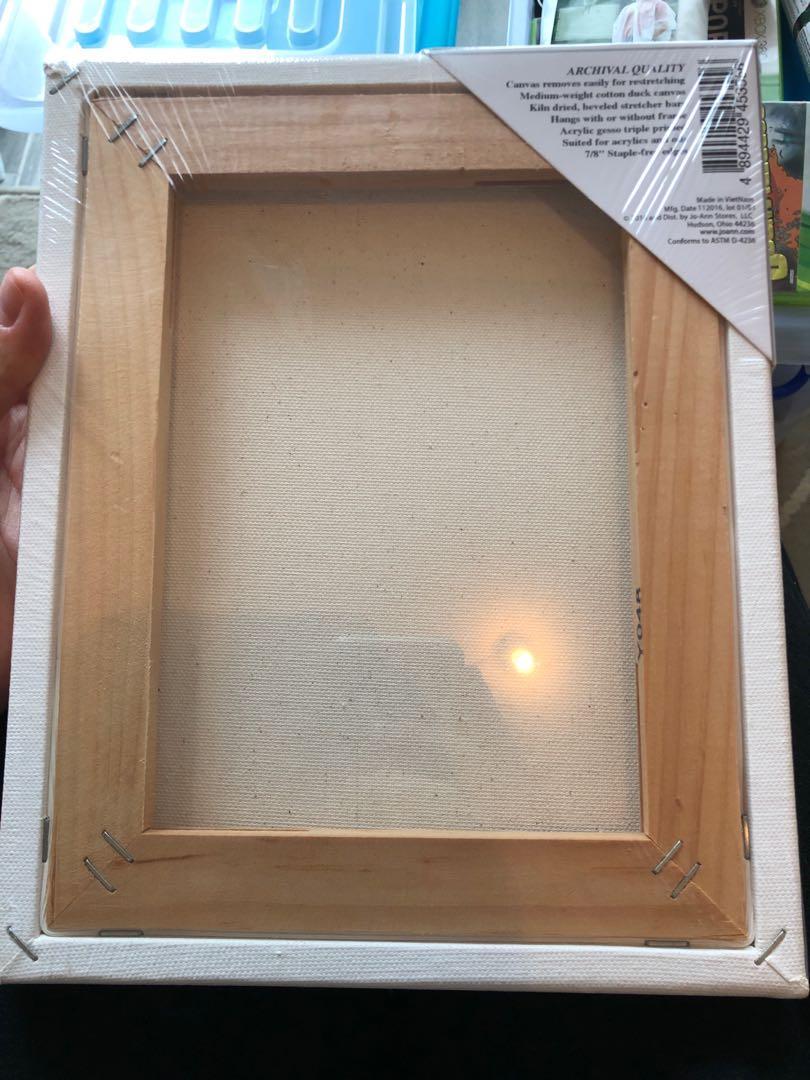 8 x 10 mini canvas