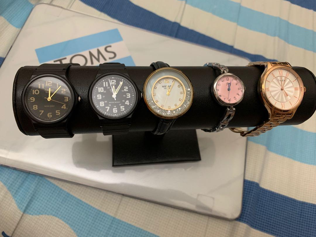⌚️手錶特賣,新舊如圖。價錢由左至右: $130.$130.$180.$70.$240