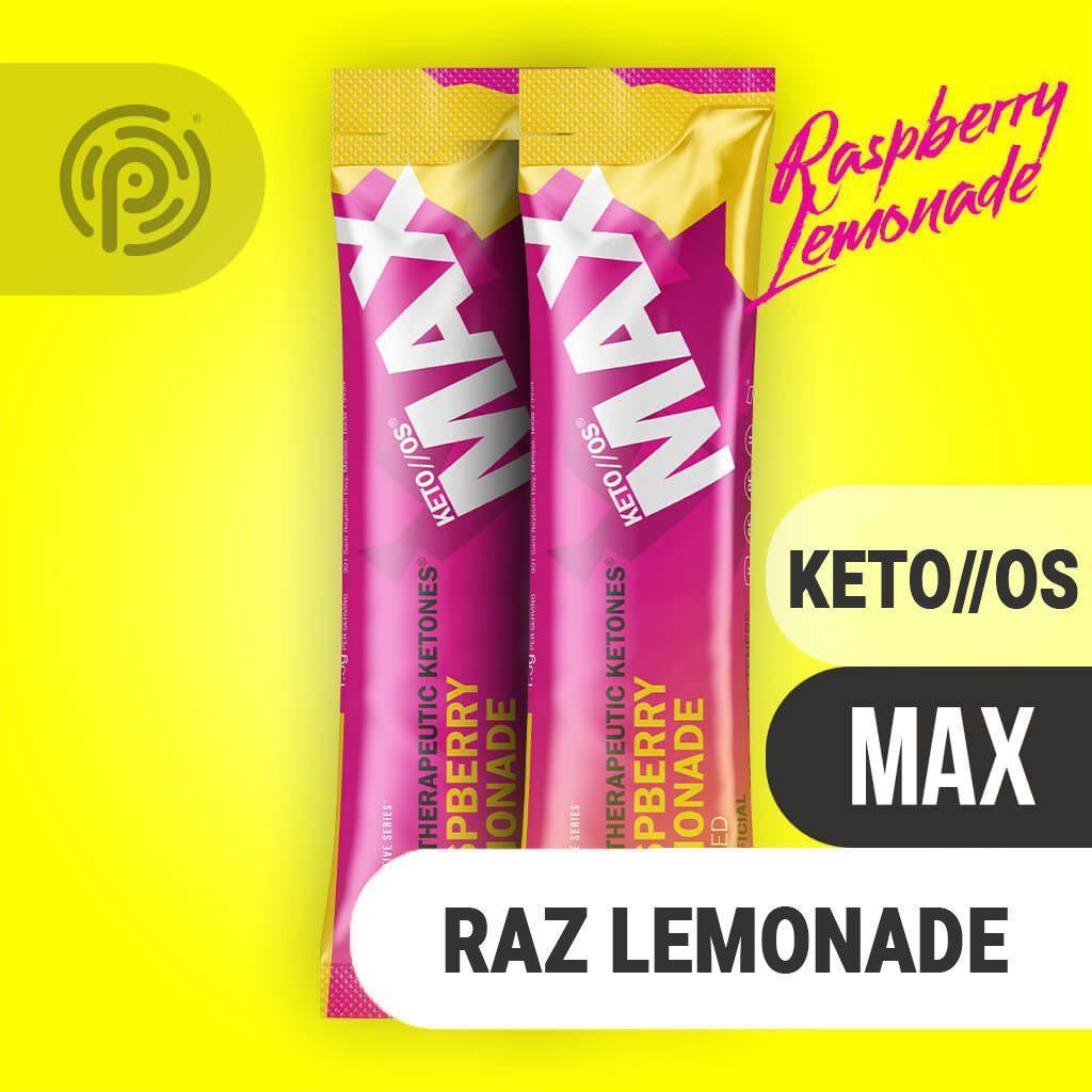 Pruvit Max Raspberry Lemonade(Charged) KETO 生酮飲 10天體驗裝