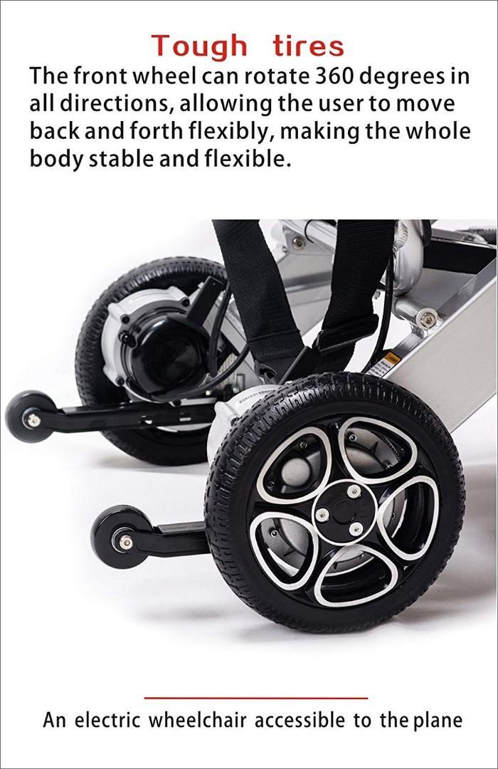香港市面可能係唯一可帶上飛機嘅電動輪椅