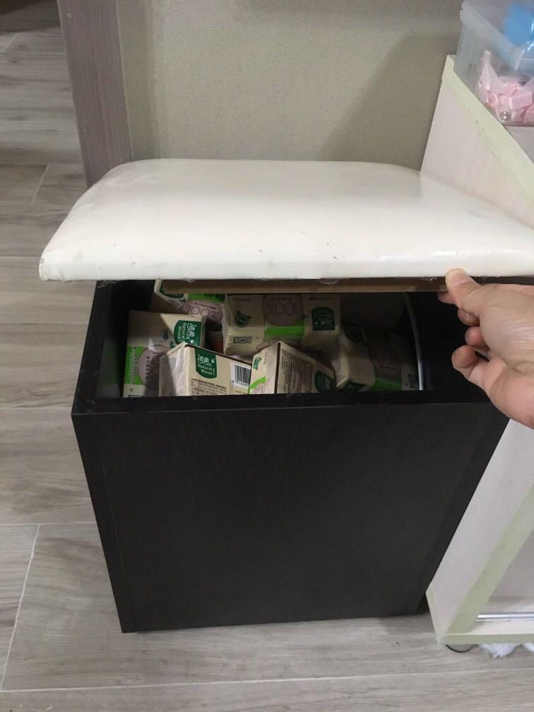 儲物盒 儲物椅 梳妝椅
