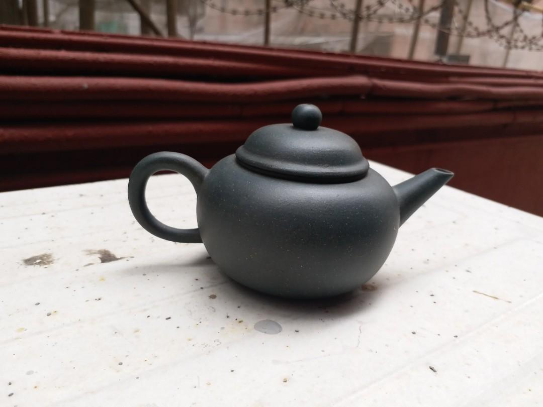 *紫砂收藏* 紫砂茶壺 民國綠泥稀有 全手工 特價出