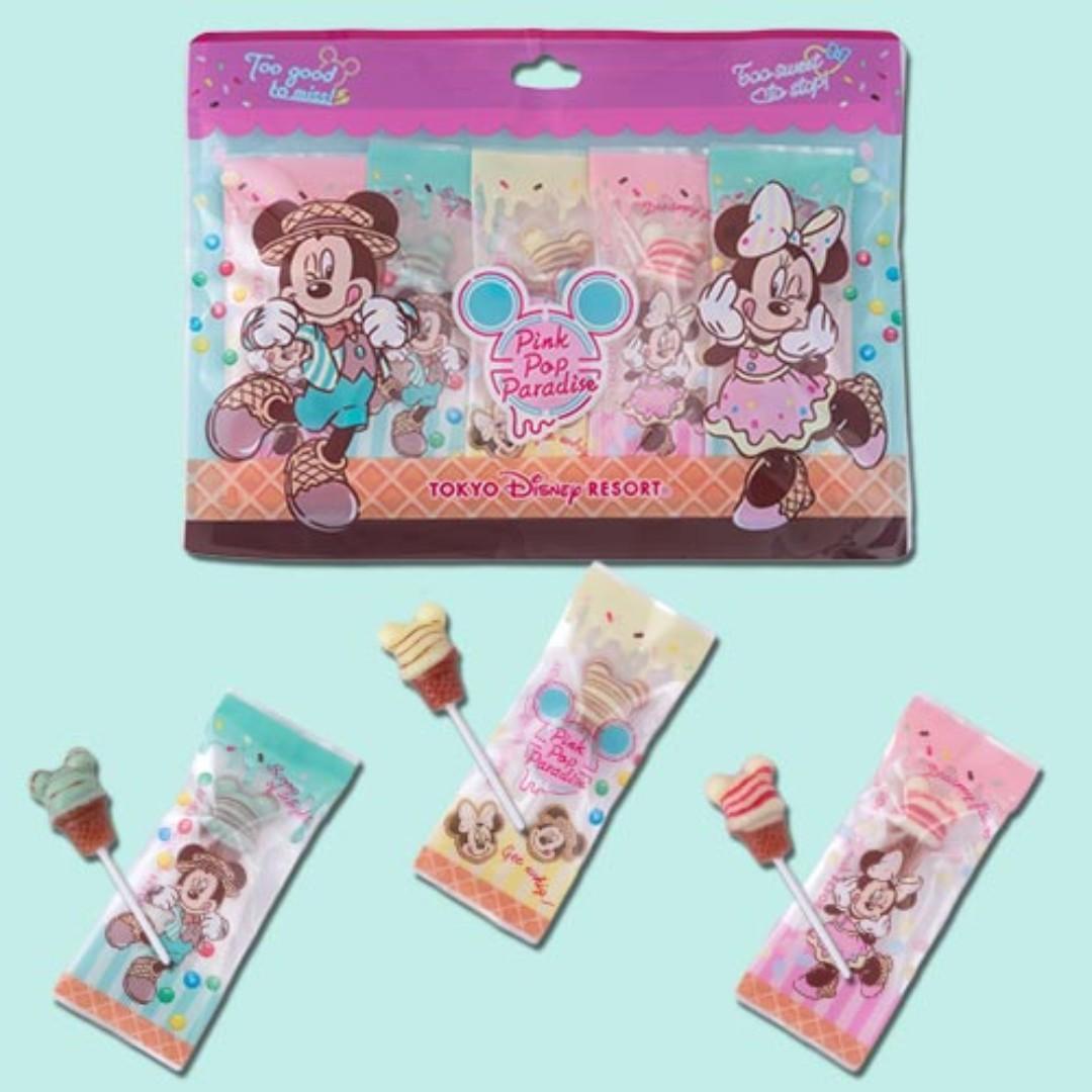 【訂購】朱古力棒棒糖 - TDR ! Pink Pop Paradise系列