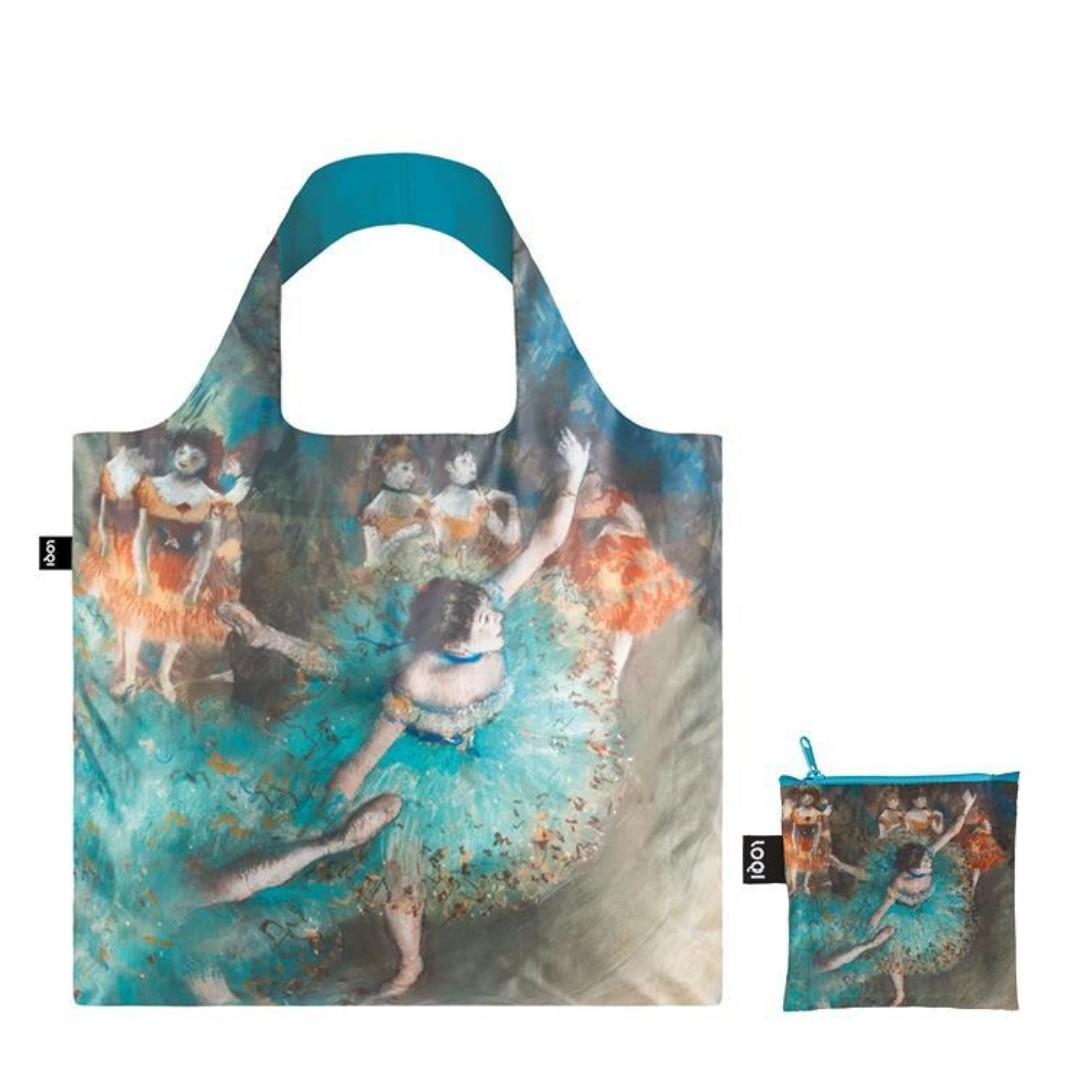 德牌 LOQI Bag 耐用 環保袋 EDGAR DEGAS Swaying Dancer $80 包郵