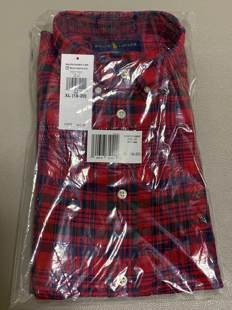 美國 Ralph Lauren Polo Shirt (全新)