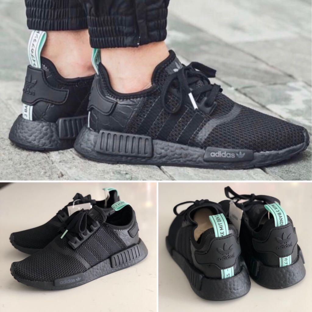 adidas yeezy boost 350 core black mint