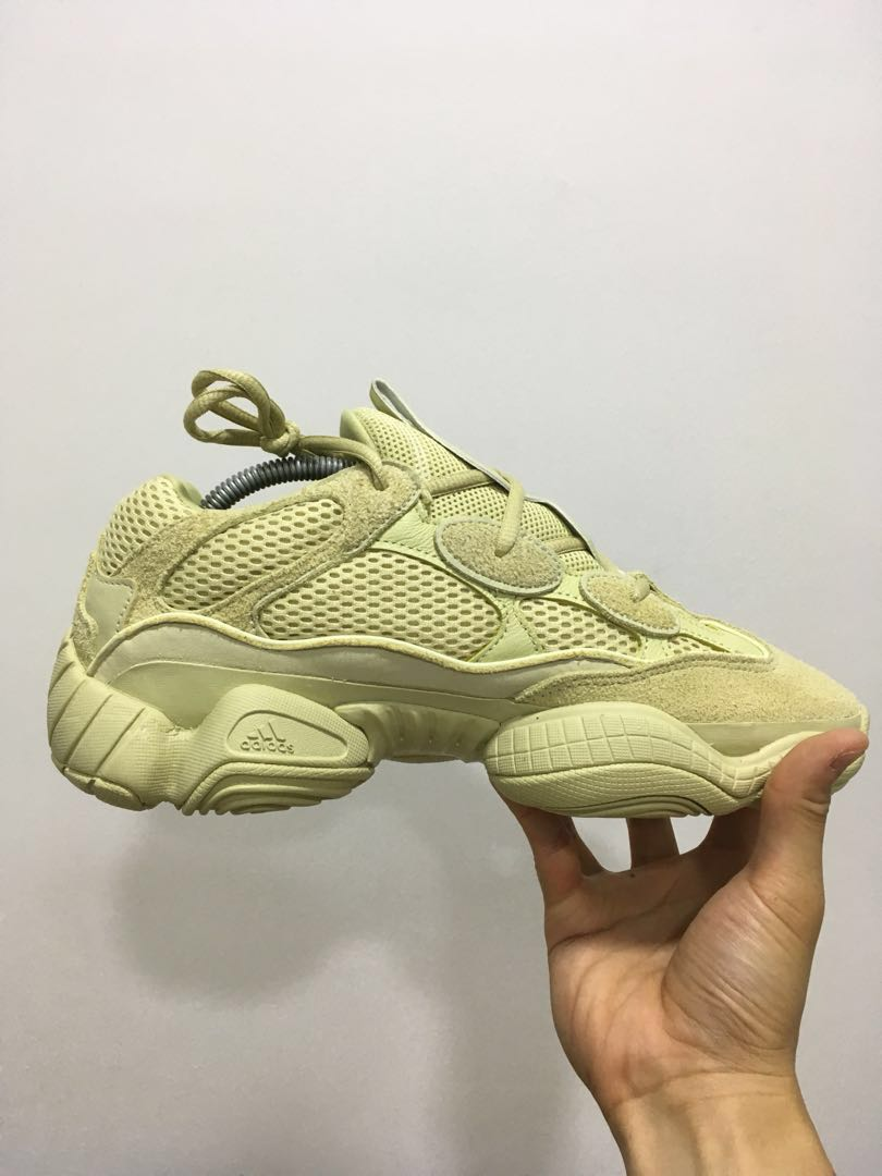 promo code 4128f f16fb Adidas Yeezy 500 Supermoon yellow, Men's Fashion, Footwear ...