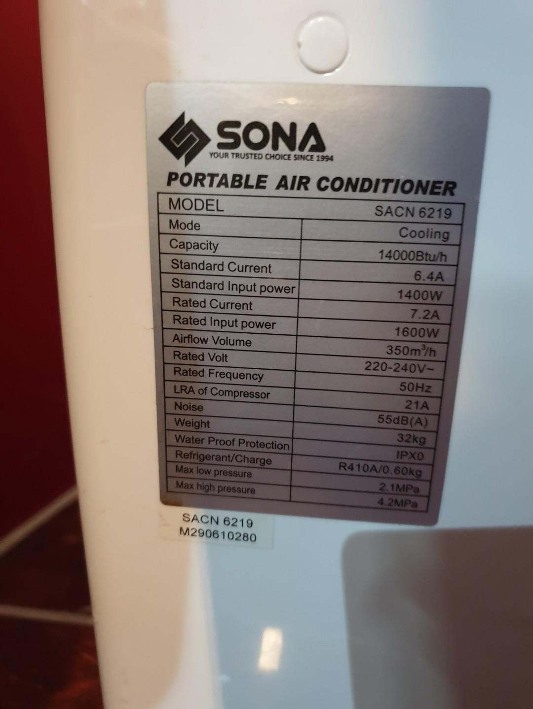 Aircon portable air conditioner