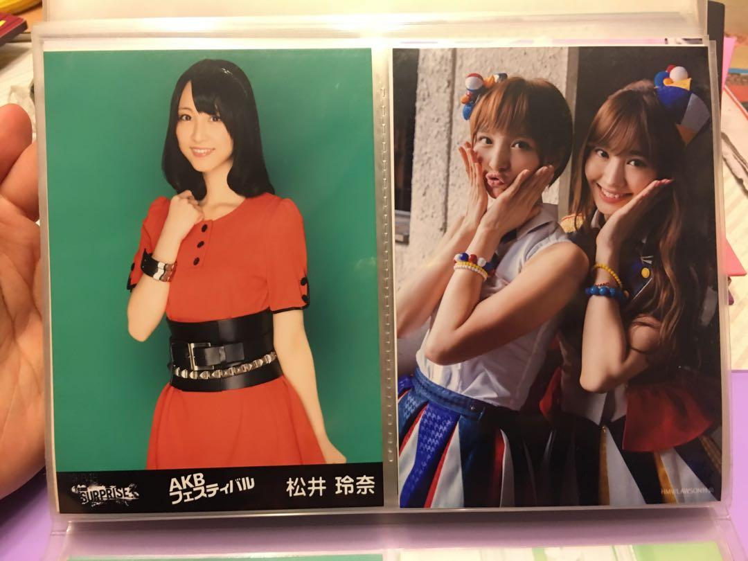 雜AKB48 及48系生寫(有神7)