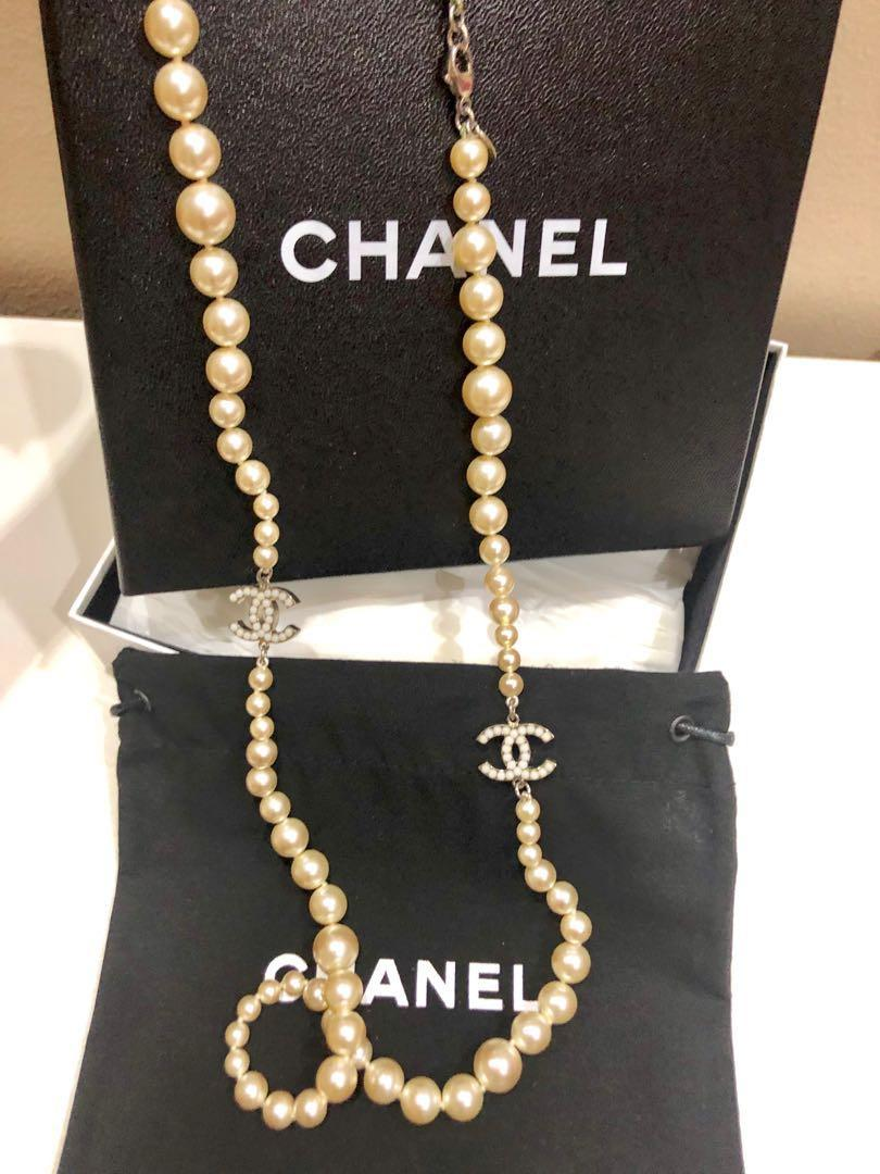Almost New Chanel necklace