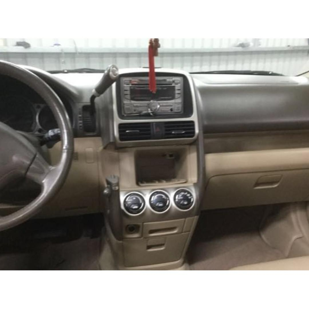 【Anna車庫】HONDA CR-V 2005 閃光銀2.0 2WD出遊的好選擇, 旅行車超大的靈活度空間,豪華舒適的座椅