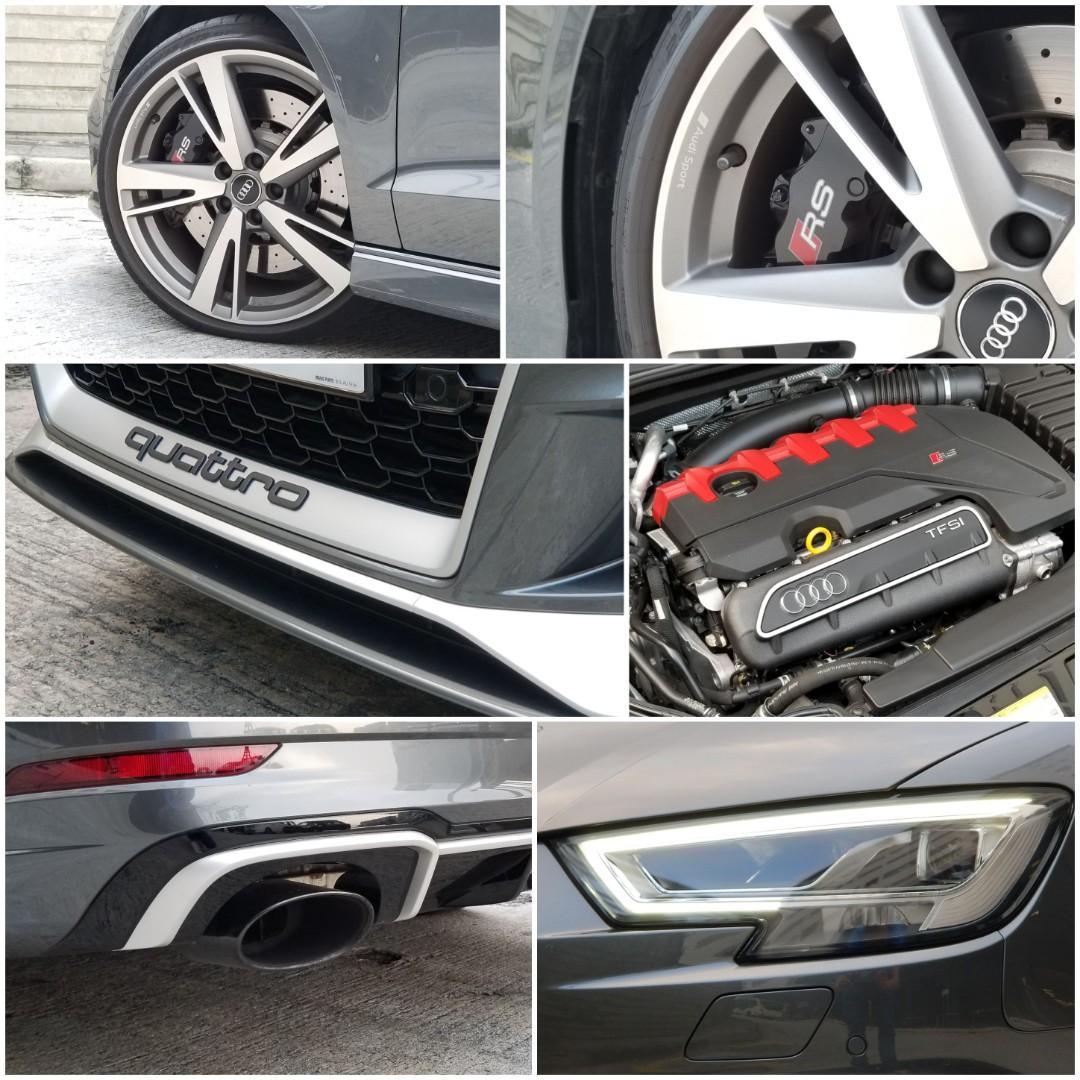 AUDI RS3 Sedan 2.5T 2018