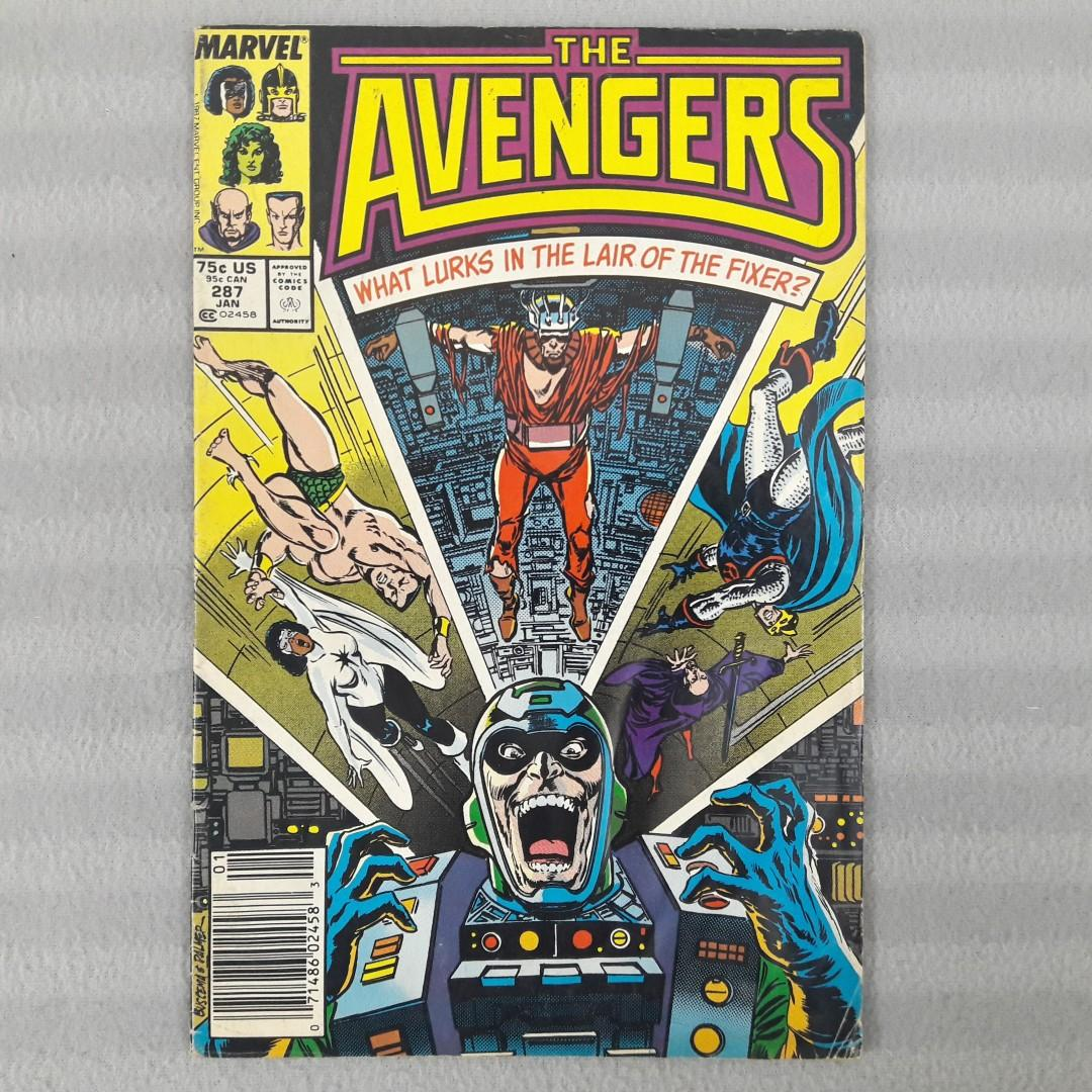 Avengers #287 - Featuring The Fixer & Metallo