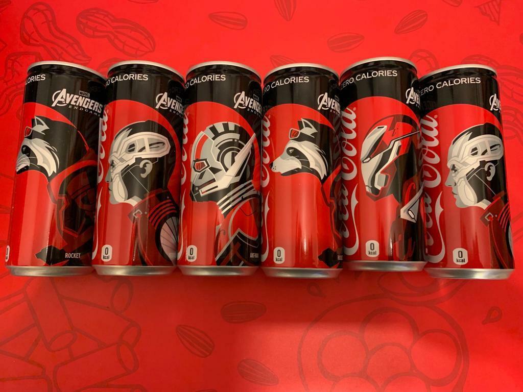 Avengers,日本版可口可樂, 超限量合收藏