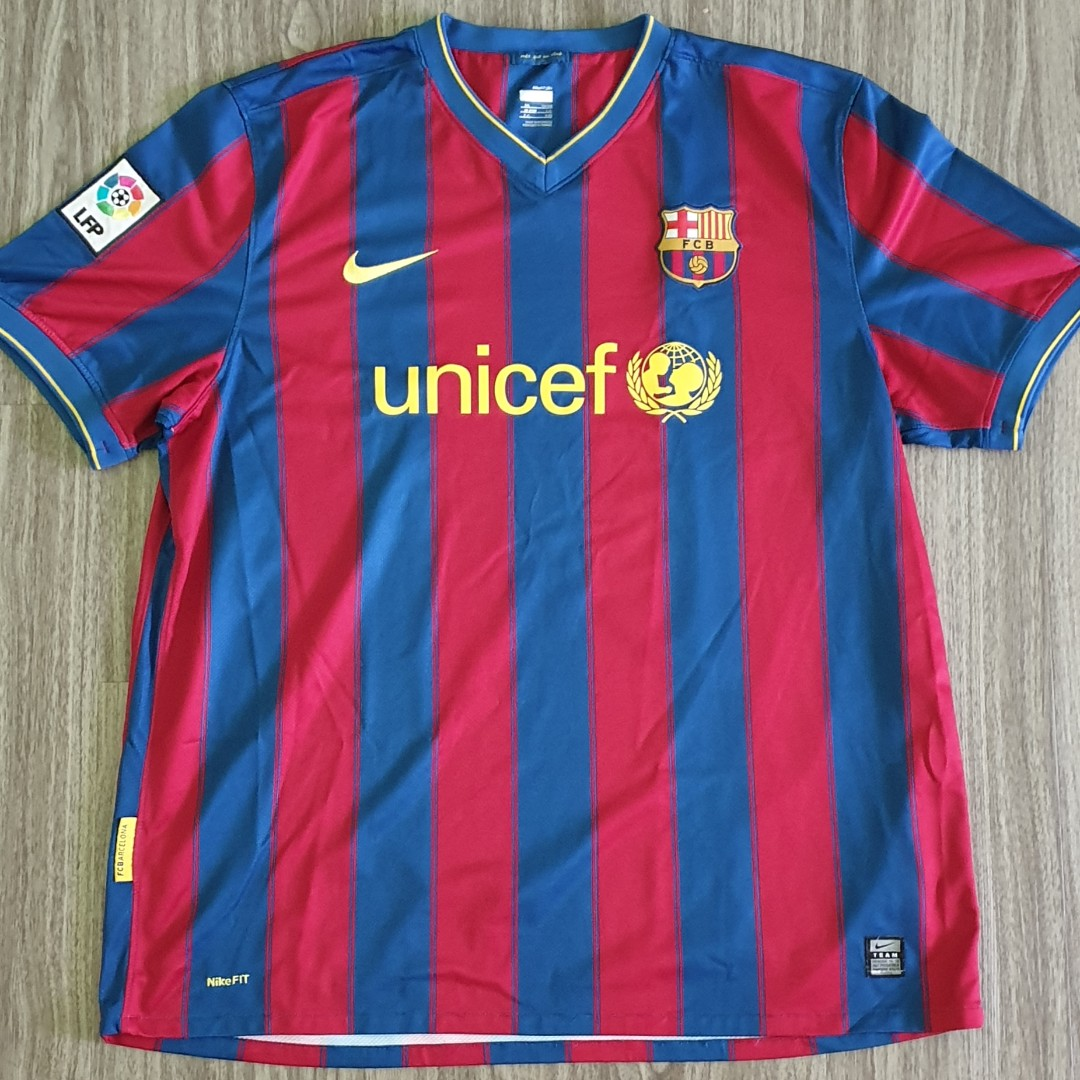 44bb311c353 photo photo ... Barcelona Nike 2009-10 Home Jersey ...