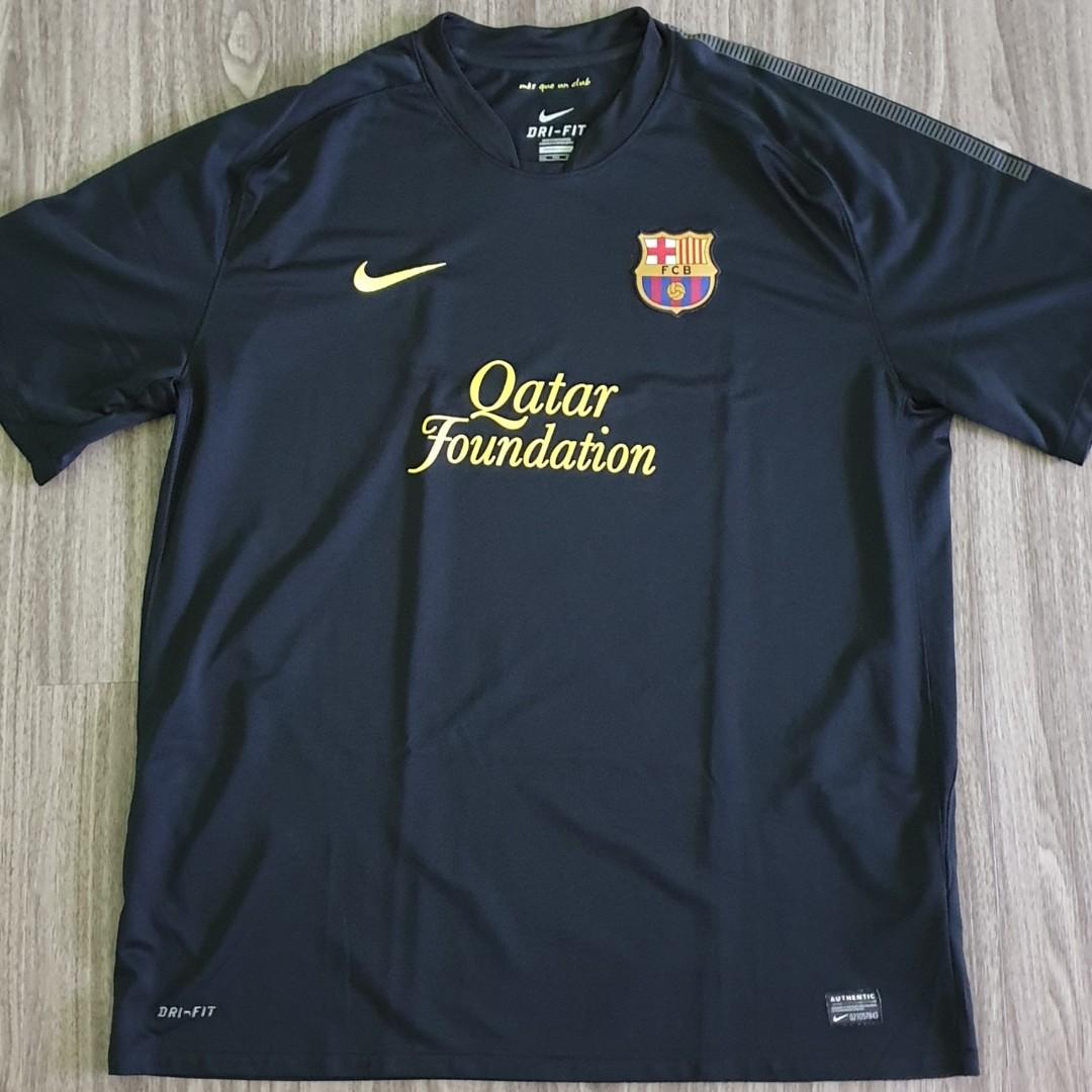 a56b7f7c9 Barcelona Nike 2011-12 Away Jersey 2XL XXL Vintage Retro