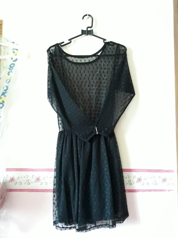 Black Dress see through