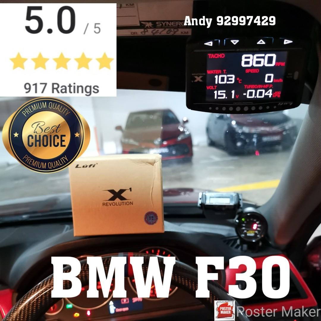 BMW F30 Lufi X1 Revolution OBD OBD2 Gauge Meter display