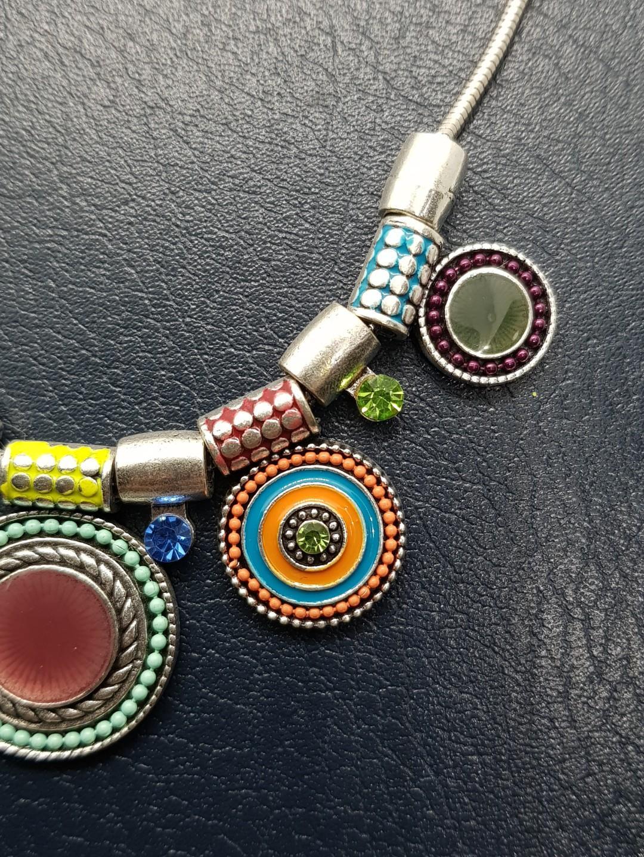 BN Colourful Ladies Bohemian Necklace Choker