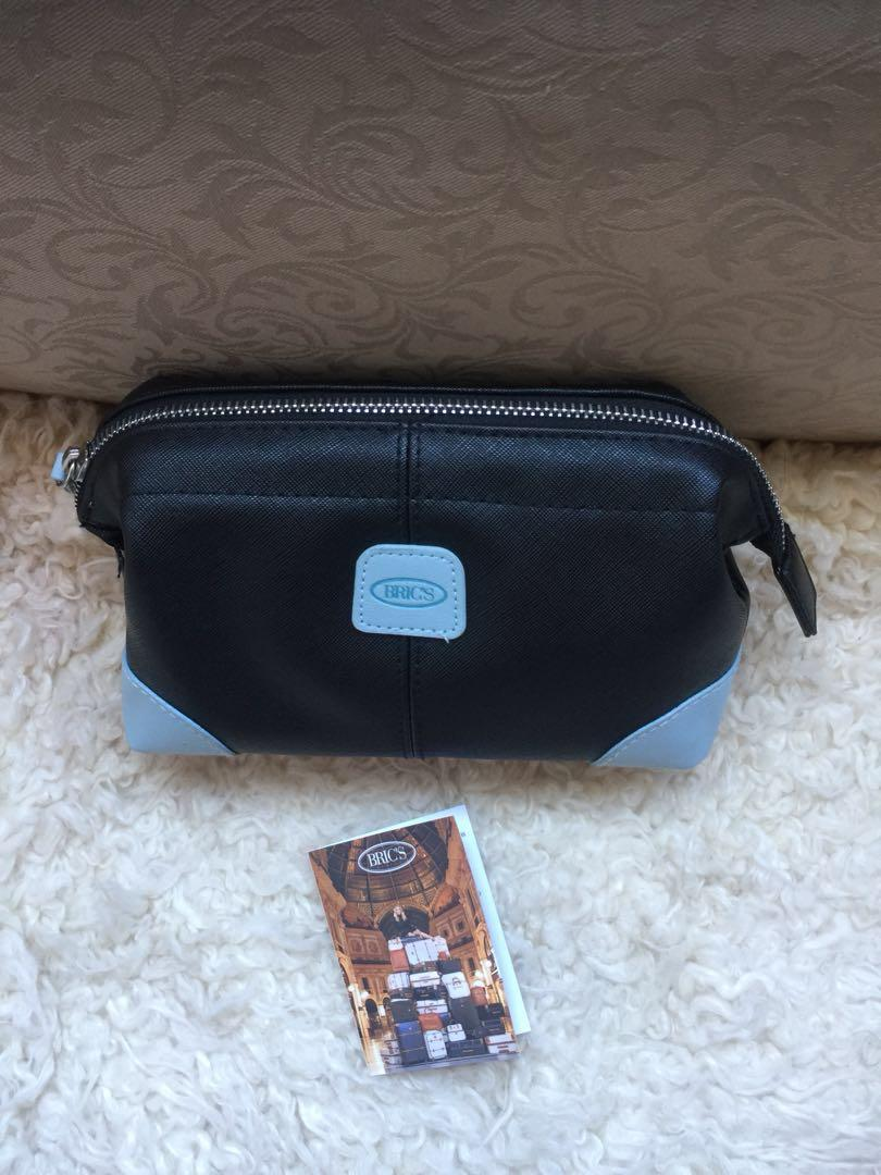 Brics london bric's uk pouch leather