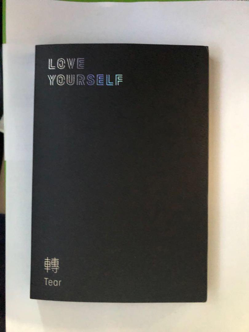 BTS Love Yourself Tear Ver O Unsealed