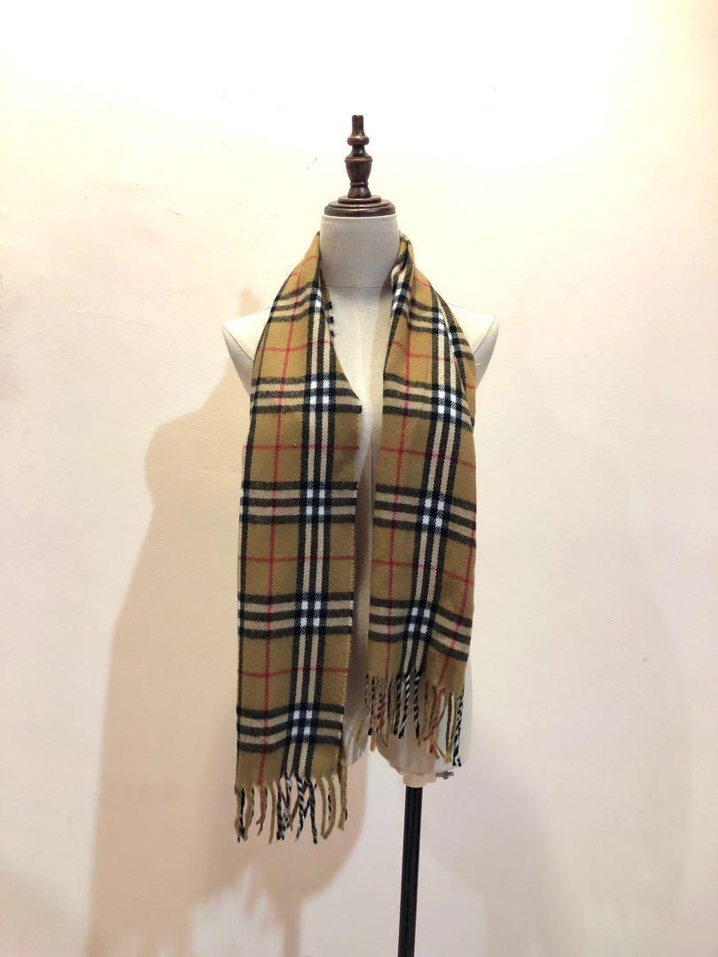 Burberry Inspired Check Scarf Muffler Men S Fashion Accessories Ties Formals On Carousell