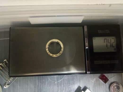 Bvlgari Ring: B.zero1 (Custom-made) Genuine 18K 750 Gold