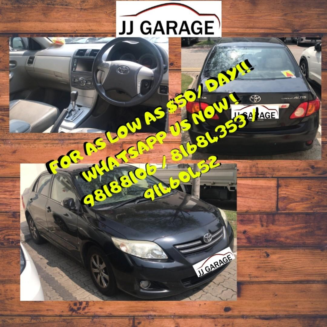 CAR RENTAL @ JURONG JJGARAGE CAR RENTALS