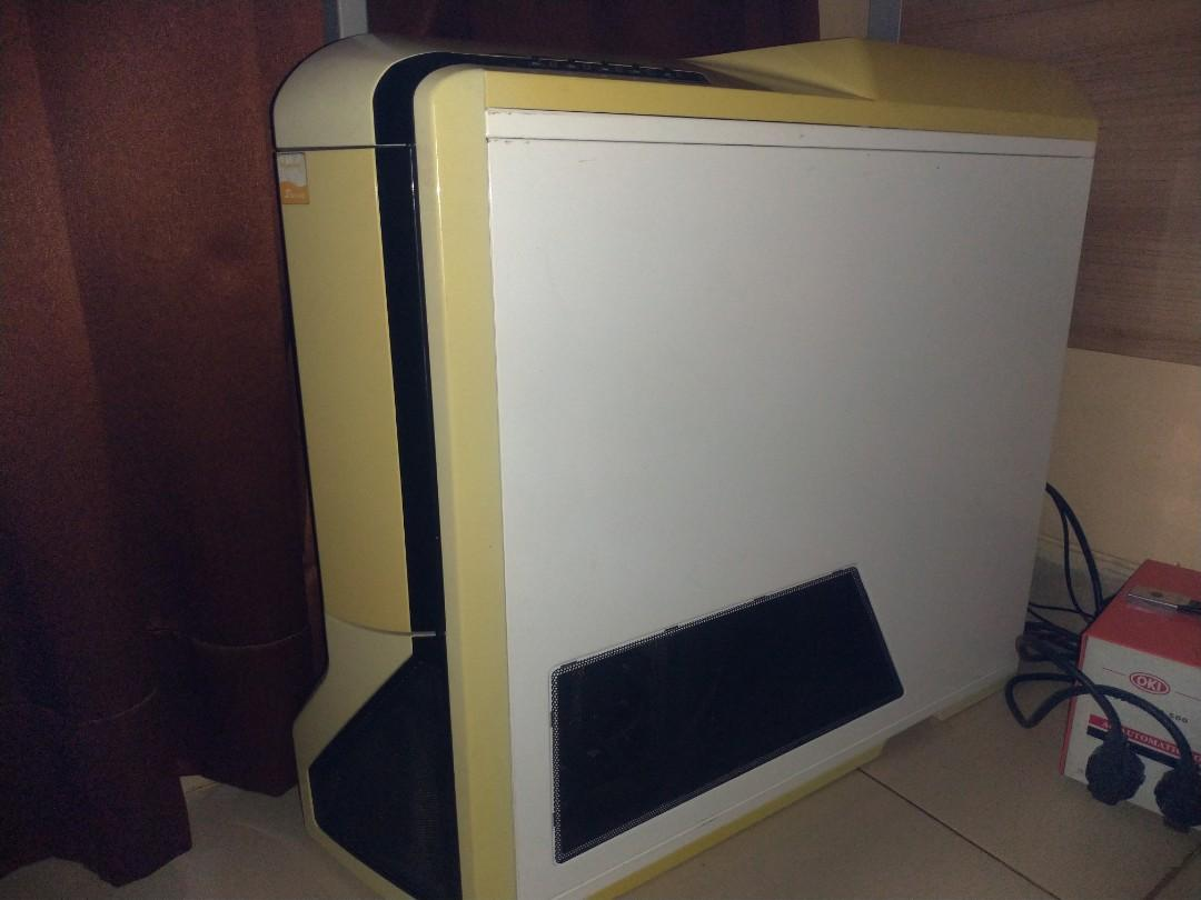 Casing PC NZXT Phantom White