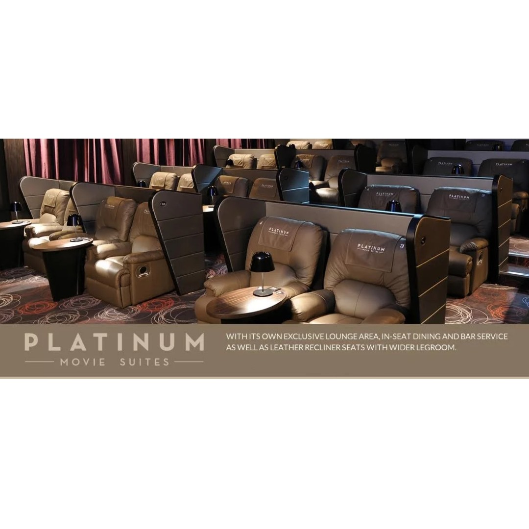 Cathay Platinum Movie Suites Tickets Wd More Info In Description Entertainment Gift Cards Vouchers On Carousell