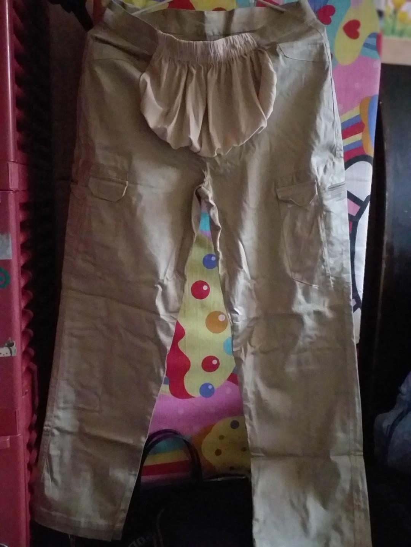 Celana Hamil Bahan Model Baggy Pants