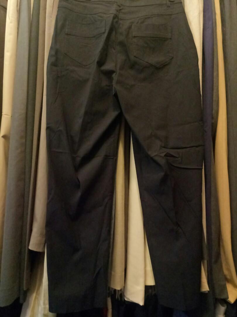 Celana hitam bahan karet cw import