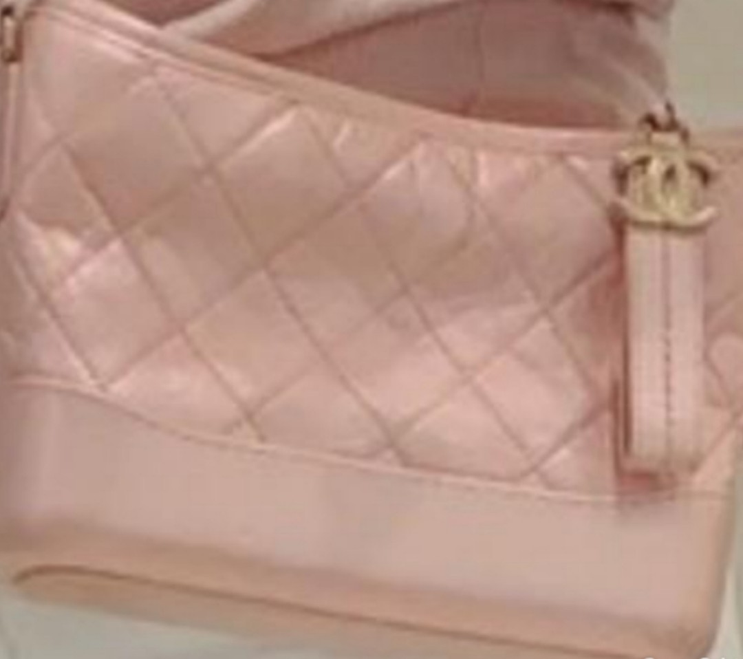 08a52cd8d33d48 Chanel Gabrielle Hobo Iridescent Pink, Luxury, Bags & Wallets ...