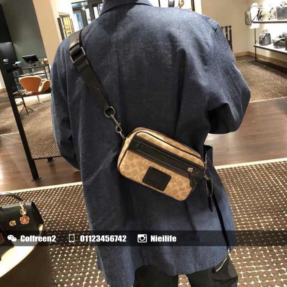 04abef2687bf Coach Academy Crossbody In Signature Canvas, Women's Fashion, Bags &  Wallets on Carousell