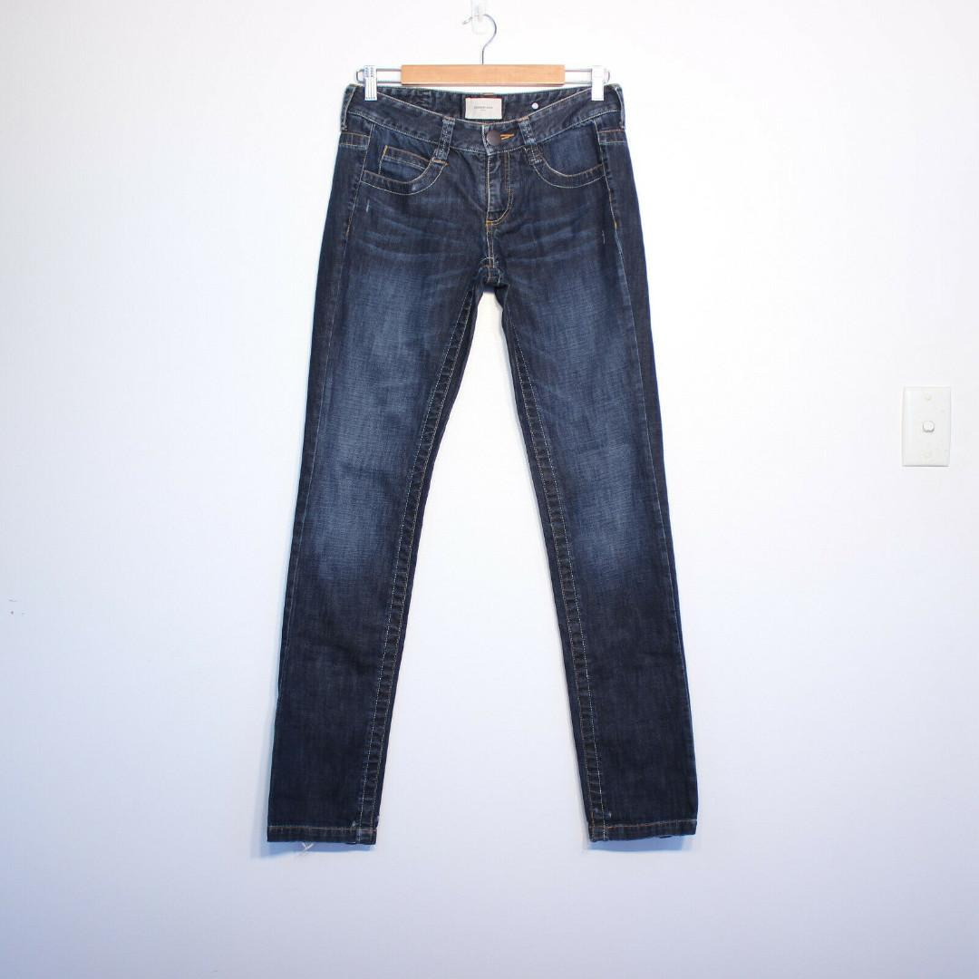 Country Road Jeans Womens Low Rise Skinny Blue Size 8