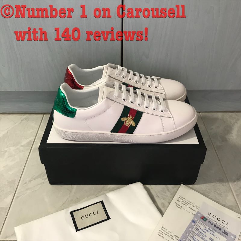 33d8c925c Customer's Order!!] Gucci Ace Sneaker Bee US10 [PO], Men's Fashion ...
