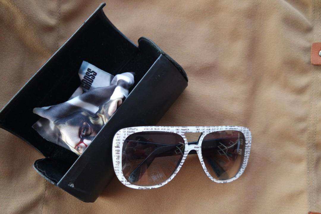 Cutler & Gross Sunglasses NY Stock Exchange Handmade in England
