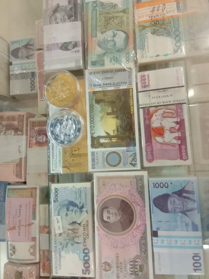 di jual uang kuno asing uka beda negara