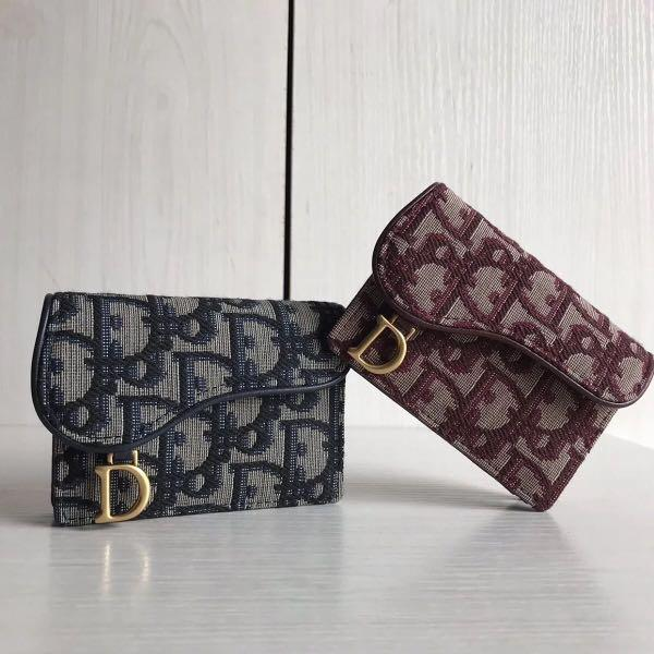 Dior Oblique Saddle Card Holder S5611CTZQ_M928
