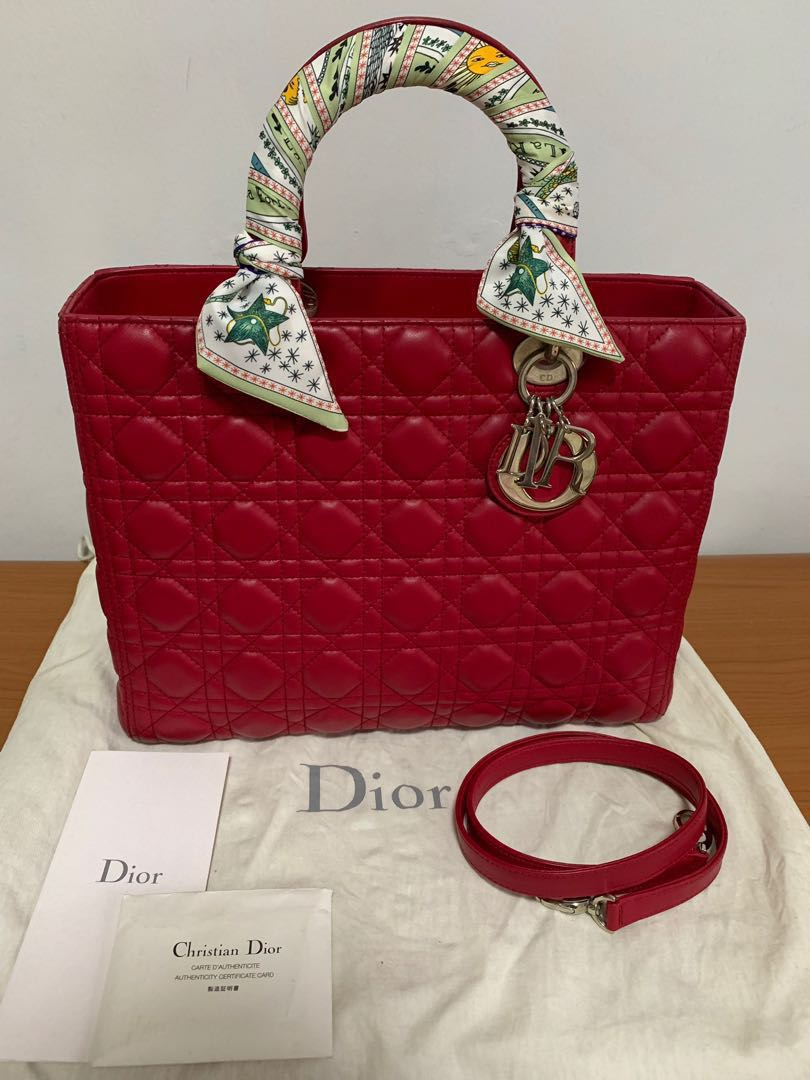 e8c5f69c25 Discounted) Lady Dior Large for Sale, Luxury, Bags & Wallets ...