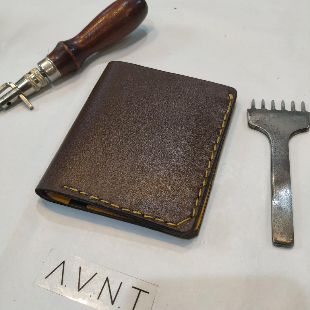 Dompet Kulit Handmade pria wanita Bifold