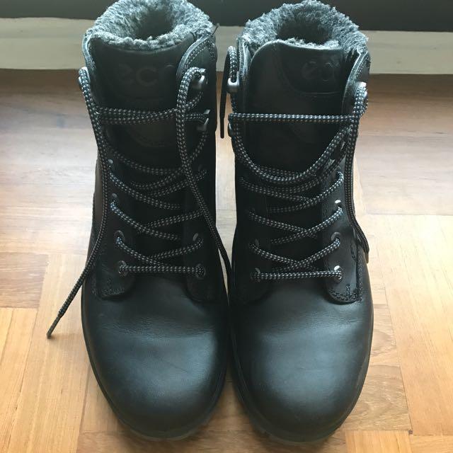 7aea5887c ECCO Mens Rugged Track GTX High Hiking Black, Men's Fashion, Footwear on  Carousell
